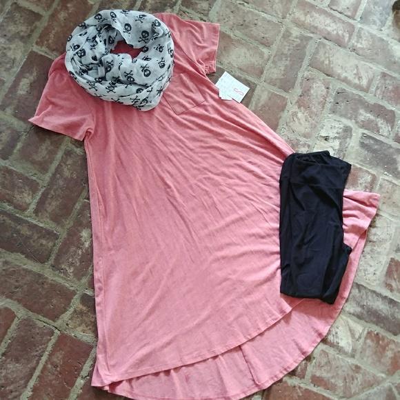LuLaRoe Dresses & Skirts - Lularoe Carly Red Heather S